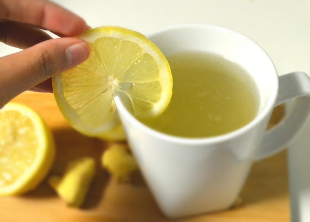 Lemon Honey Ginger Tea