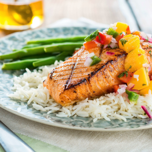 sweet-spicy-salmon-with-honeyed-mango-salsa